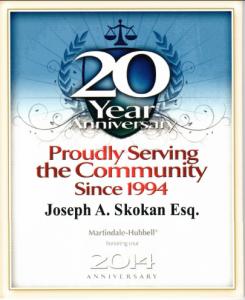 20yr Service - Joe